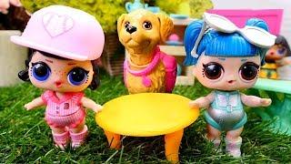 Çocuk videosu. LOL bebekleri yeni arkadaşlar ile tanışıyor.