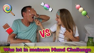 #1 Whats in my Mouth Challenge  🍬 Candy 🍭 Edition 🍬 DEUTSCH 😉  Lea Loves Freaky