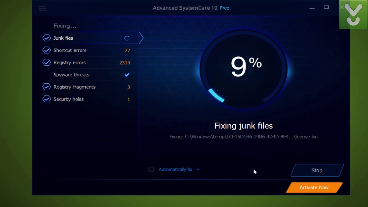 advanced systemcare 10 download for pc