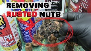 BEST Oil for Rusty Bolts? | WD-40 vs. S...
