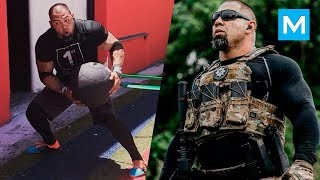 Extreme Special Forces Workout - Tony Sentmanat | Muscle Madness