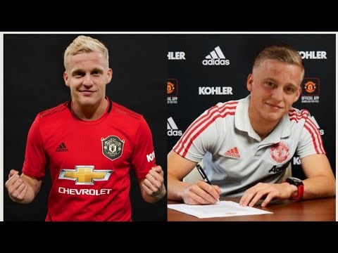 Ajax Confirm Donny Van De Beek Transfer Agreement Manchester United News Youtube