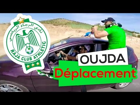 Déplacement Oujda [550 Km] MCO 0-1 RCA - الرجاء البيضاوي