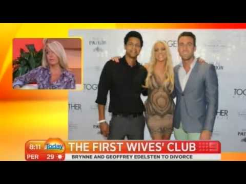 TODAY: Brynne and Geoffrey Edelsten divorce allegation