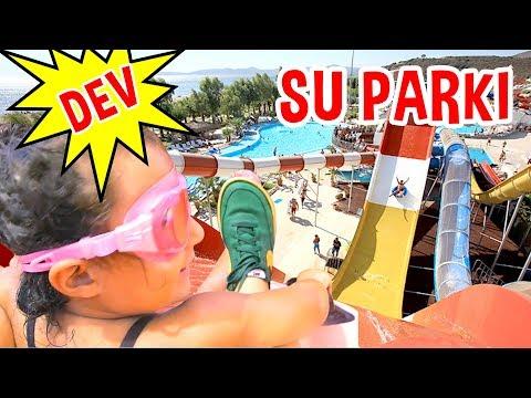HİÇ KORKMADIM ! Mira Dev Su Parkında | Aquapark Videoları | Eğlenceli Çocuk Videosu | UmiKids