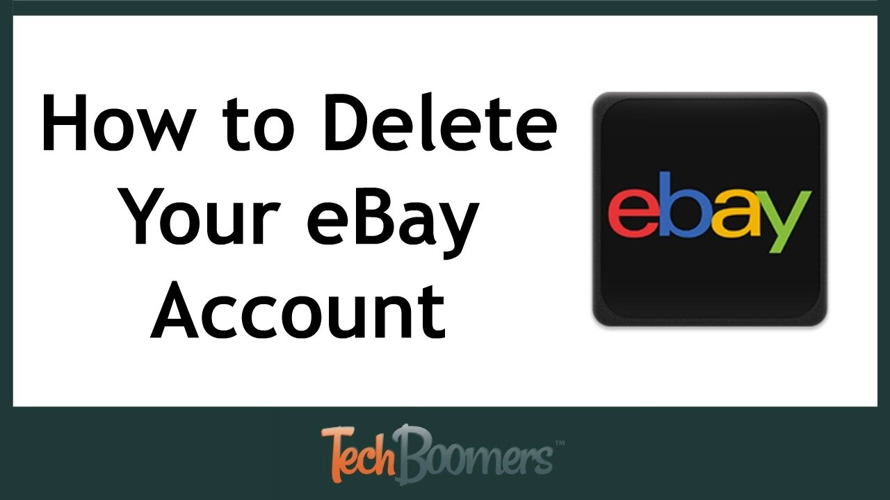 how to cancel ebay store account