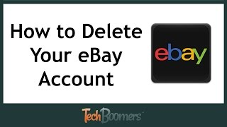 How To Delete Your Ebay Account Youtube