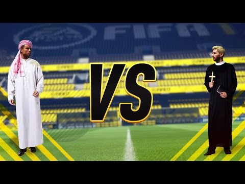 MUSLIM vs CHRISTIAN TEAM - FIFA 17 !!!