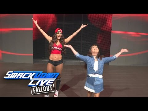 Nikki Bella helps Sophia Grace create her own WWE entrance: SmackDown LIVE Fallout, Dec. 6, 2016 thumbnail