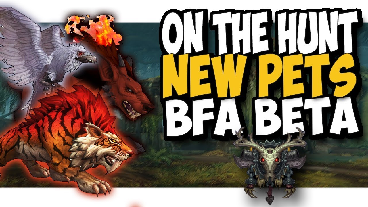 Wow Guide New Hunter Pets 7 2 5 Tome Of The Hybrid Beast Youtube
