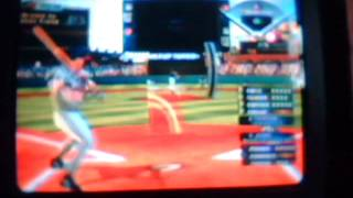 Baseball Video Game(Big League 2) For The Wii