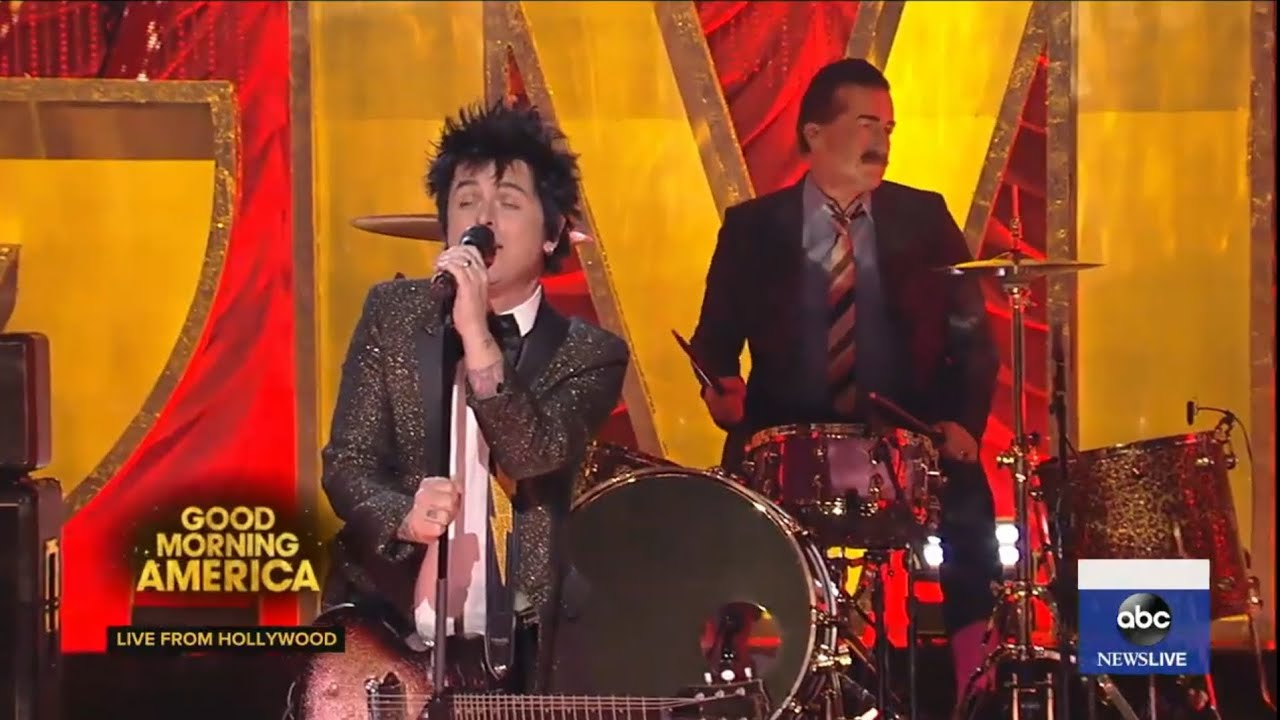Green Day - Oh Yeah! (Live at Good Morning America 2020)