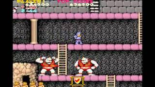 Ghosts'N Goblins / Makaimura - MAME32 - Walkthrough