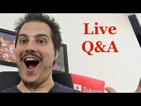 Live 🔴 Stock Market & Entrepreneur Q&A