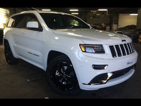 2017 Jeep Grand Cherokee High Alude à Vendre You