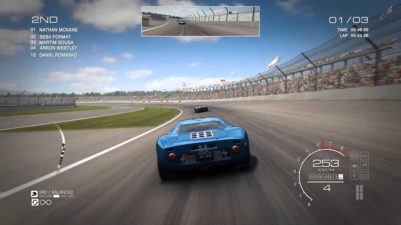 GRID Autosport Ford GT40 MK1 Top Speed - YouTube