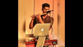Neevena Santhosha Ganam | Flute Instrumental | Finny David | GarageBand works | iPhone Music & Video