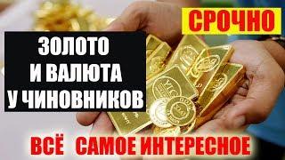 у зам начальника таможни по энергетике РФ изъяли 18 тонн золота и 100 млн  долларов