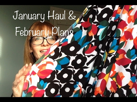January Haul & February Plans - Vlog #15