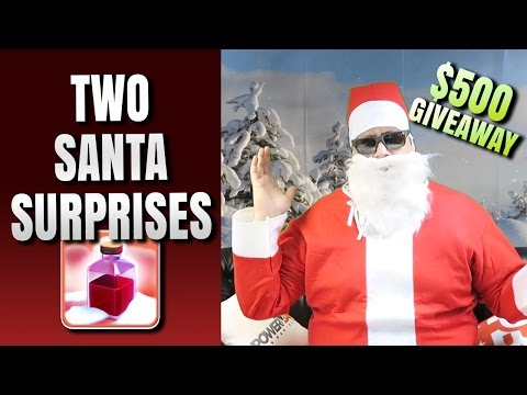 TWO SANTA'S SURPRISES! NEW SPELL + $500 CHRISTMAS GIVEAWAY!
