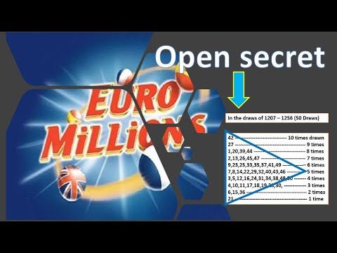 EuroMillions Lotto Winning Results Analysis For Number Selection
