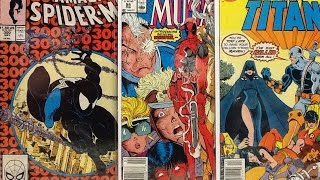 My Comic Book Collection Top 50 key issues ( tag video )