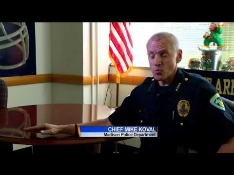 Madison police chief reacts to Ferguson streaming vf