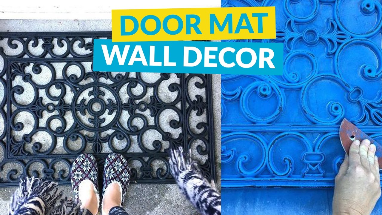 Rubber Door Mat Wall Decor