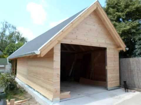 Download video: garázs építés fából, kocsi beálló építés, garázs kivitelezés budapest 70-285-93-93