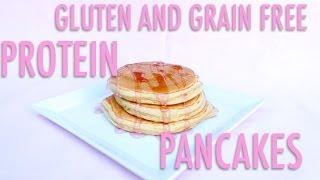 [healthy Recipe] Gluten & Grain Free Protein Pancakes