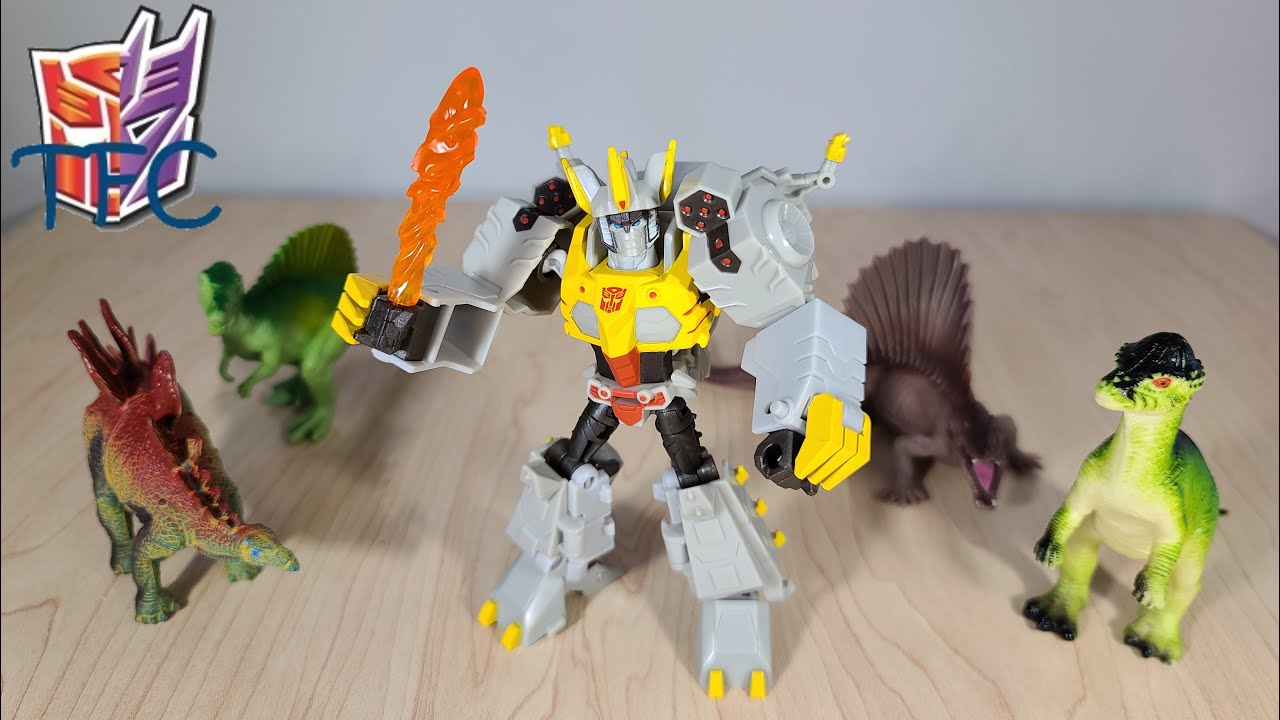 TF Collector Cyberverse Deluxe Grimlock Review!