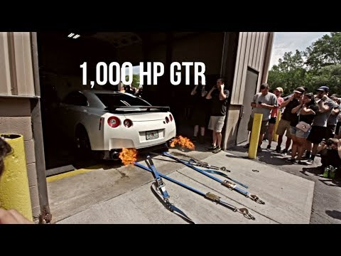STM GTR Makes 1,000 On The Dyno!