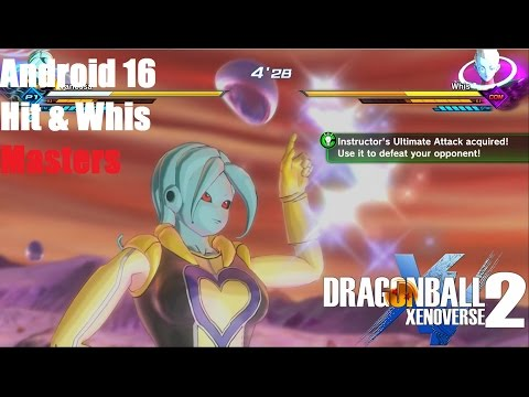 DragonBall Xenoverse 2 Android 16 Hit and Whis Masters