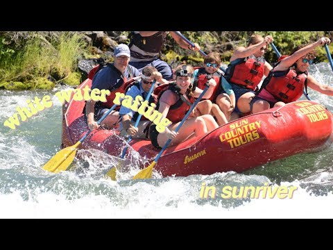 rafting with the family!