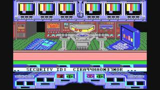 Commodore 64: Koronis Rift game ending by Activision and Lucasfilm Games