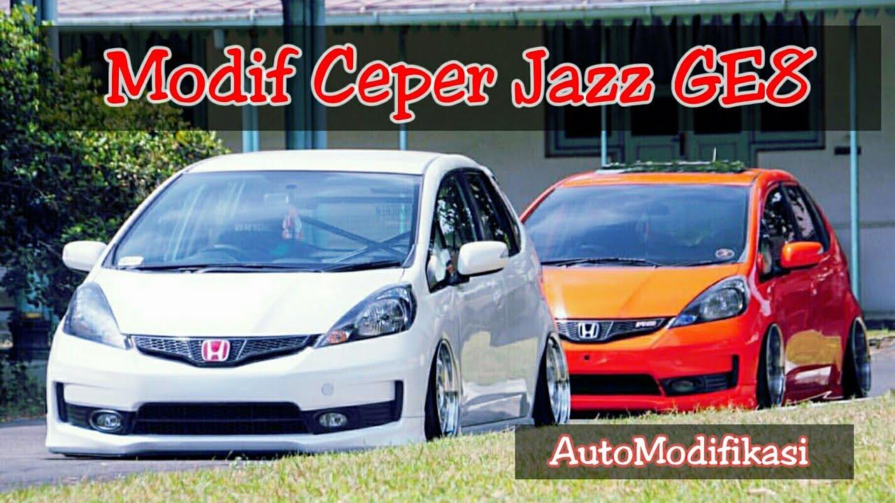 Inspirasi Modifikasi Honda Jazz Ge8 Jadi Ceper Modifikasi