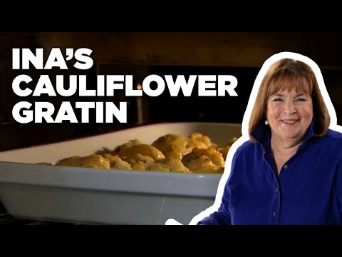 Ina's Make-Ahead Cauliflower Gratin How-To | Food Network