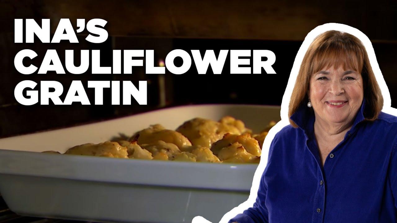 Ina's Make-Ahead Cauliflower Gratin How-To   Food Network