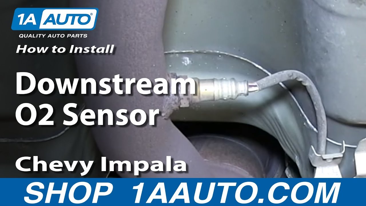 How To Install Replace Rear Downstream O2 Sensor 2006 12 Chevy Impala Youtube