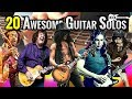 kfiro plays 20 Awesome Guitar Riffs and Solos