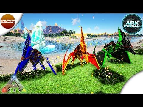 Riot Armor και Lightning & Poison Pteranodon! ARK Eternal Isles E6 Greek gameplay