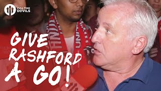 Give Marcus Rashford a Go! | Manchester United 2-0 Southampton | FANCAM