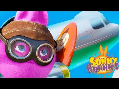 Cartoons for Children | Sunny Bunnies THE SUNNY BUNNIES TAKE FLIGHT | Funny Cartoons For Children