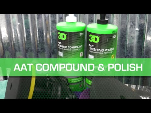 AAT Compound & Polish with Clay Pad
