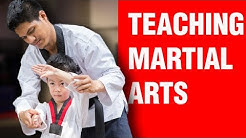 Teaching Martial Arts | ART OF ONE DOJO