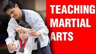 Teaching Martial Arts   ART OF ONE DOJO