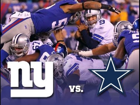604d8ad43e7 NBC Week 12 NFL Sunday Night Football Dallas Cowboys vs. New York Giants  Review Recap!
