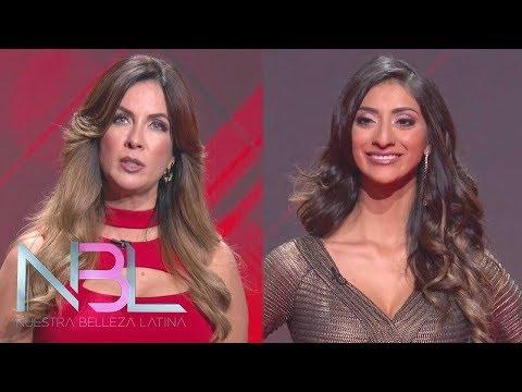 Carmen Batiz y Elvira Reyes se enfrentan en vivo en el escenario de Nuestra Belleza latina   NBL