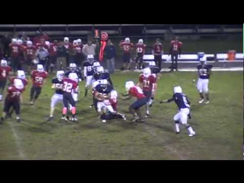 Dominic Burgower 2011 Sophomore Highlights, Governor Thomas Johnson High School football