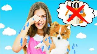 Настя Артем и Мия история для детей про собачку Марти